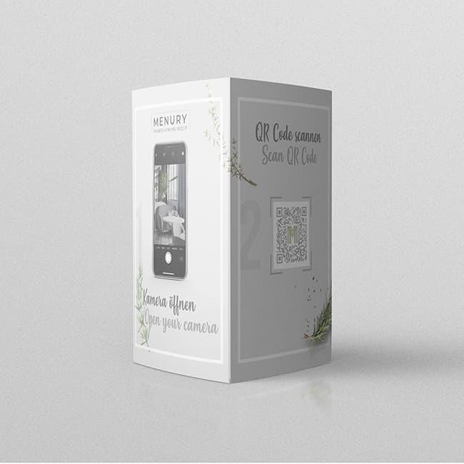 Speisekarte Digital QR Code